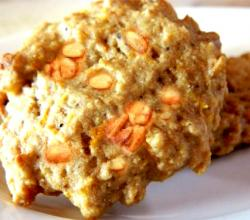 Orange Peanut Biscuits