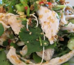How to Make an Asian Chicken Salad