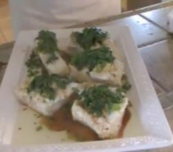 Oriental-Style Steamed Sea Bass