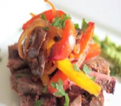 Paleo Magazine - Skirt Steak Fajitas