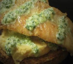 Mothers Day Recipes - Pan Fried Fish Open Sandwich