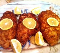 Oven-Fried Flounder With Almond Butter