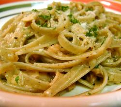 Parsley Fettuccine