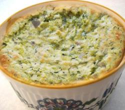 Parsley Rice Souffle