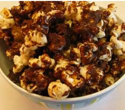 Party Favorite Sweet Chocolate-Coated Popcorn
