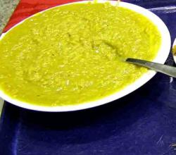 PEA AND BARLEY SOUP