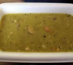 Pea Soup With Frankfurters