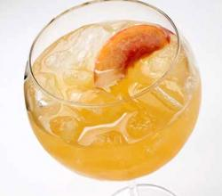 Peach Brandy Cooler
