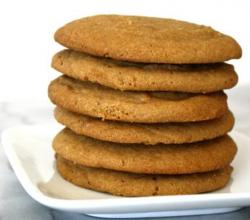 Self-Rising Peanut Butter Cookies