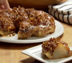 Pear and Walnut Tartin