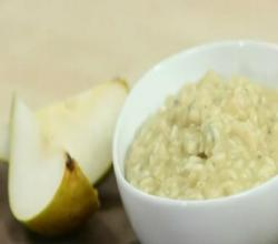 Pear, Walnut and Blue Cheese Risotto