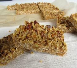 Heavenly Homemade Maple Pecan Nut Bars