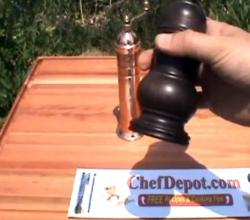 Brass Pepper Mill