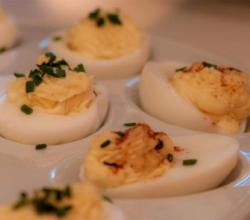 Peppy Deviled Eggs