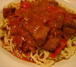 Quick Veal Goulash