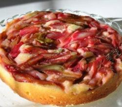 Rhubarb Upside Down Cake