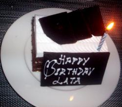 Lata'S Birthday Cake