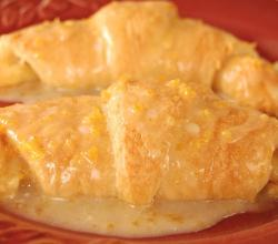 Cinnamon Orange Crescents