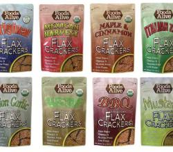 Foods Alive - Organic Raw Flax Crackers