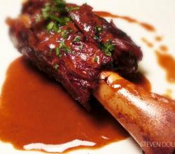 Braised Lamb shanks by Steven Dolby