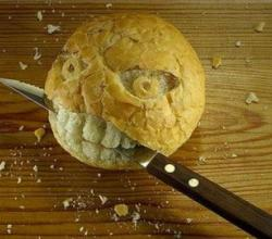 Food Or Teeth - Bread Art