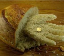 Food Art - Hand made of Bread