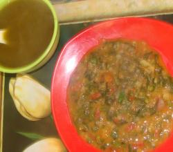 Bhaji With Soup