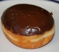 Boston Cream Doughnut
