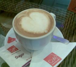 Cappuccino With A Heart
