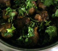 Chicken Kassa with Coriander