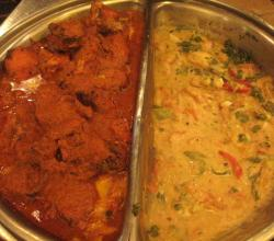 Chicken Korma With Raita