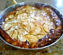Cinnamon Apple Puff Pancake Breakfast