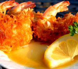 Coconut Shrimp With Honey Dijon Sauce