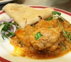 Chicken Curry with Roti