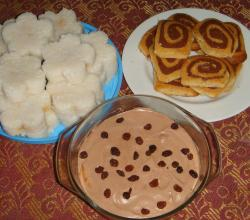 Desserts - Chocolate Mousse and Cookies
