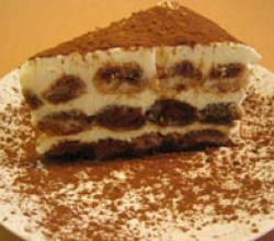 Tiramisu with Choco Powder