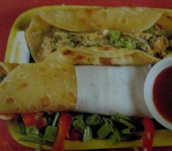 Egg Roll and Veggies