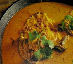 Fish Curry with Coriander