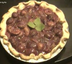 Fresh Fig Pie