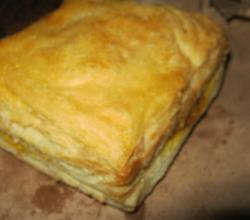 Homemade Chichen Phyllo Pastry