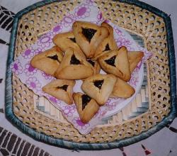 Homemade Hamantaschen