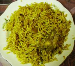 Homemade Hyderabadi Biryani