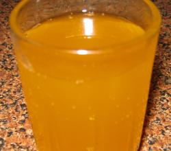 Homemade Orange Juice