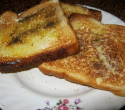 Honey Butter Toast With Pepper