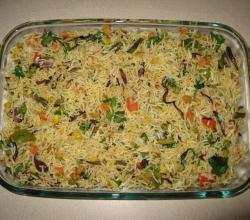 Hyderabadi Rice Pulao - Main Course