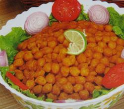 Chana with Salad