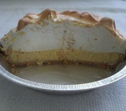 Key Lime Pie Cut