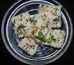 Khatta Dhokla - Indian Steamed Cake