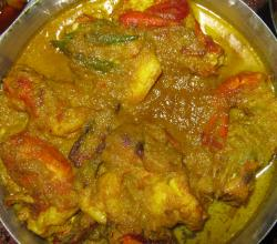 Malai Chingri Curry