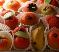 Marzipan Fruits